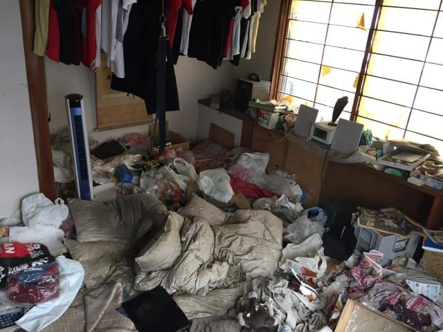 ゴミ屋敷の不用品回収