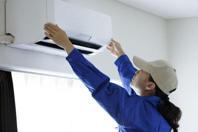 不用品回収と合わせてエアコンの取り付け・取り外し・クリーニングをしたい場合
