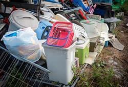大量の不用品回収