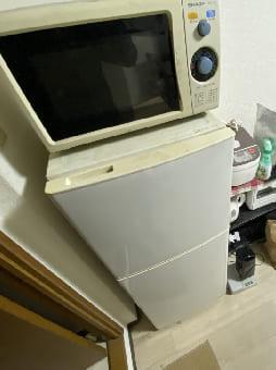 大阪市での電子レンジの回収 case1