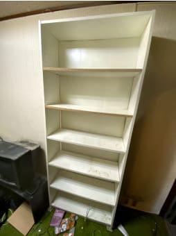 大阪市での本棚の回収 case1