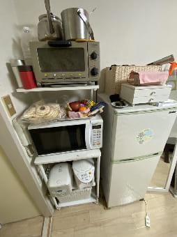 大阪市での電子レンジの回収 case2