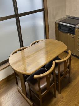 大阪市でのダイニングテーブルの回収 case1