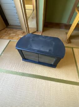 大阪市でのテレビ台の回収 case1
