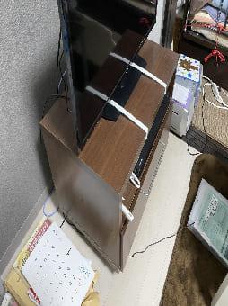 大阪市でのテレビ台の回収 case2