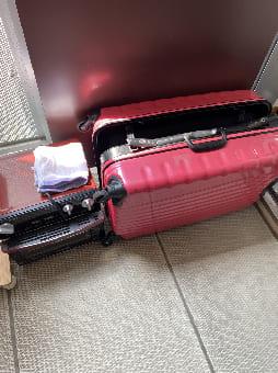 大阪市でのスーツケースの回収 case1
